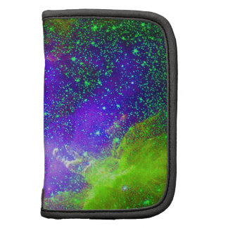 Galaxy Nebula space image. Folio Planners