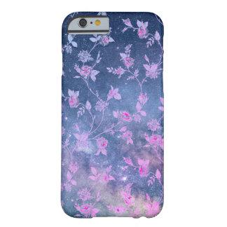 Galaxy Nebula Stars Floral Texture iPhone Case