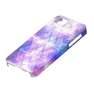 galaxy nebula stars TRIANGLES X DIAMONDS Case For The iPhone 5