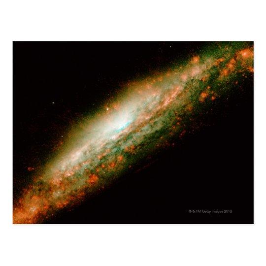 Galaxy NGC 3079 Postcard