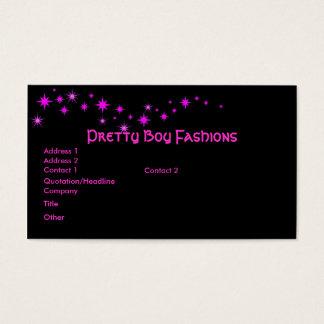 Galaxy of stars business card