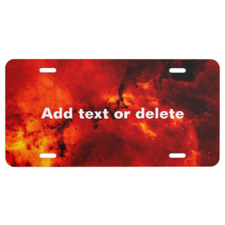 Galaxy On Fire License Plate