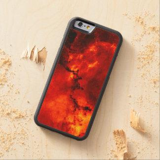 Galaxy On Fire Maple iPhone 6 Bumper