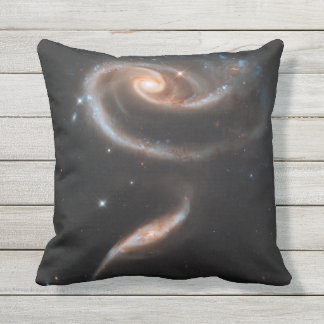 Galaxy Outer Space Nebula Throw Pillow