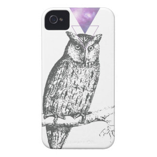 Galaxy owl 1 iPhone 4 Case-Mate cases