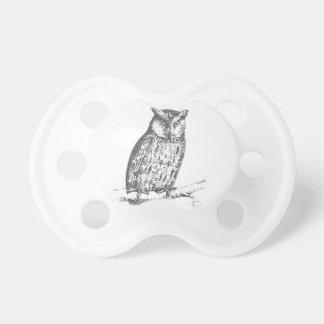 Galaxy owl 1 pacifier