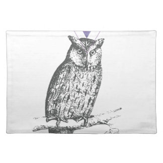 Galaxy owl 1 placemat