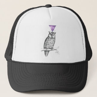 Galaxy owl 1 trucker hat