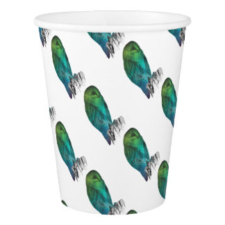 Galaxy owl 2 paper cup