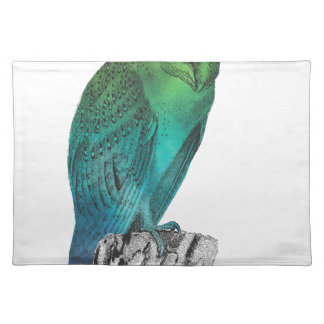 Galaxy owl 2 placemat