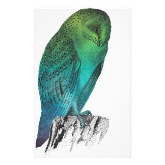 Galaxy owl 2 stationery