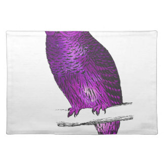 Galaxy owl 3 placemat