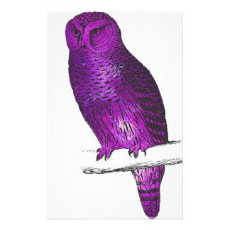 Galaxy owl 3 stationery