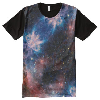Galaxy Pattern All-Over-Print T-Shirt