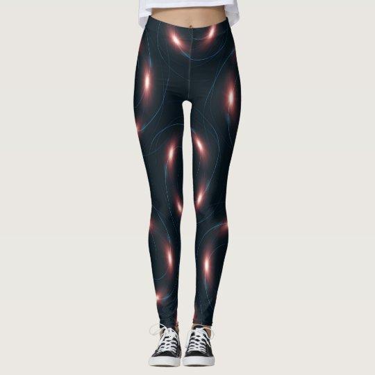 galaxy pattern leggings