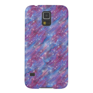 Galaxy pink beautiful night starry sky image cases for galaxy s5