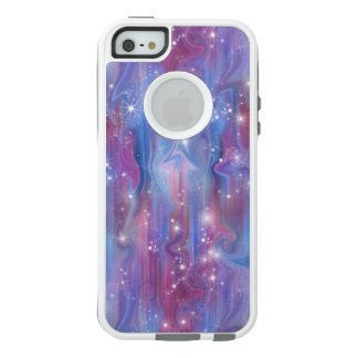 Galaxy pink beautiful night starry sky image OtterBox iPhone 5/5s/SE case