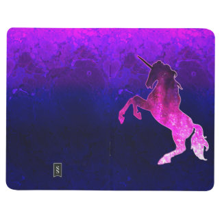 Galaxy pink beautiful unicorn sparkly image journal