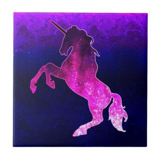 Galaxy pink beautiful unicorn sparkly image tile