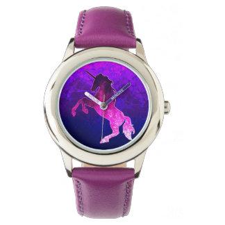Galaxy pink beautiful unicorn sparkly image watch