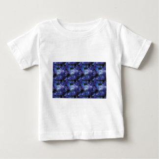galaxy pixel art in blue baby T-Shirt