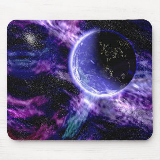 galaxy planet 2 mouse pad