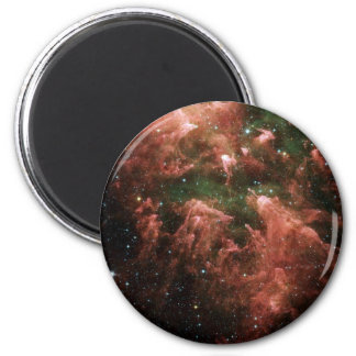 Galaxy Print 2 Inch Round Magnet