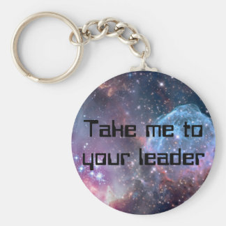 Galaxy Print and personalized text keychain