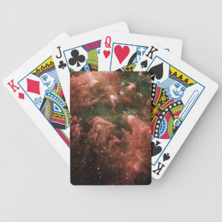 Galaxy Print Bicycle Playing Cards