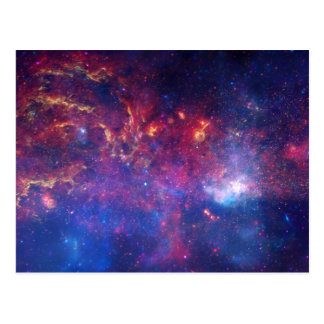Galaxy Print Milky Way Postcard