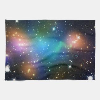 Galaxy Print Stars Nebula Colorful Space Pattern Kitchen Towel
