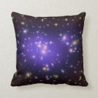 Galaxy Print Stars Ultra Violet Starry Deep Space Throw Pillow