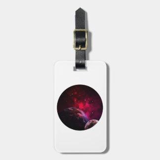 Galaxy Purple 1 - purple Gláxia Luggage Tag