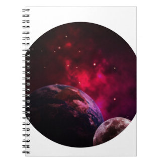 Galaxy Purple 1 - purple Gláxia Notebooks