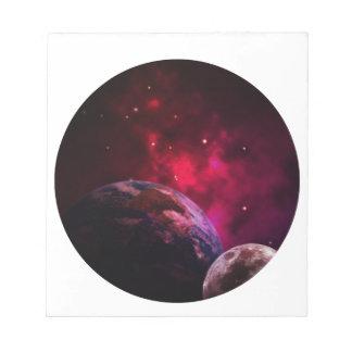 Galaxy Purple 1 - purple Gláxia Notepad