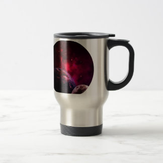 Galaxy Purple 1 - purple Gláxia Travel Mug