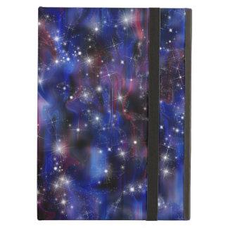 Galaxy purple beautiful night starry sky image case for iPad air