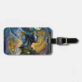 Galaxy Queen Luggage Tag