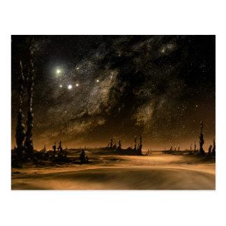 Galaxy Rise Postcard