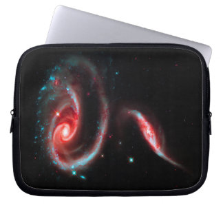 Galaxy Rose Red Laptop Computer Sleeve