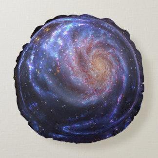 Galaxy Round Round Pillow