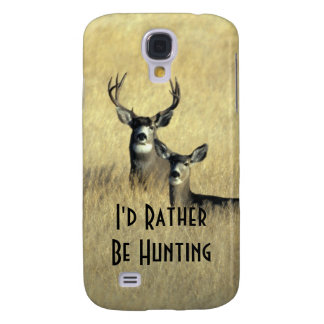 Galaxy S4 Masculine White Tail Mule Deer Buck Doe