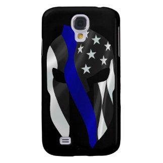 Galaxy S4 Thin Blue Line Spartan Case