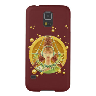Galaxy S5 - Portrait with headphones/Red Cases For Galaxy S5