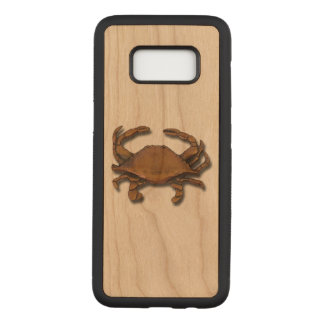 Galaxy S8 Copper Crab on Cherry Carved Samsung Galaxy S8 Case