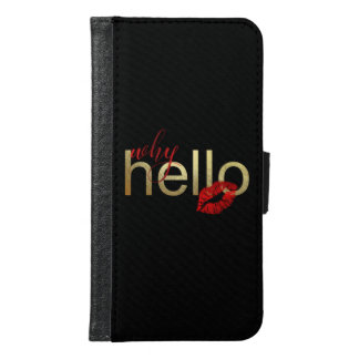 "Galaxy S ""Why Hello"" Gold Foil Case"