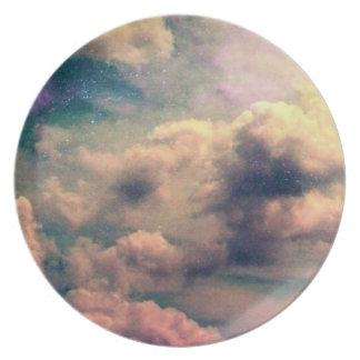 Galaxy sky plate