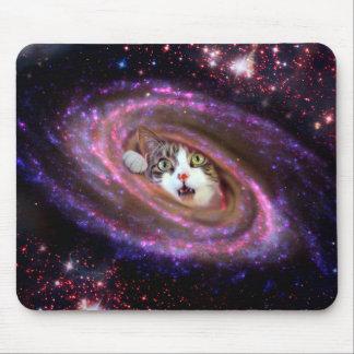 Galaxy Space Cats LOL Mousepad (Horizontal)