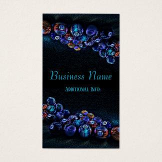 Galaxy Sparkle Billiards Business Card 2
