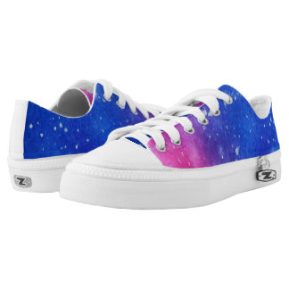 Galaxy Splatter Shoes
